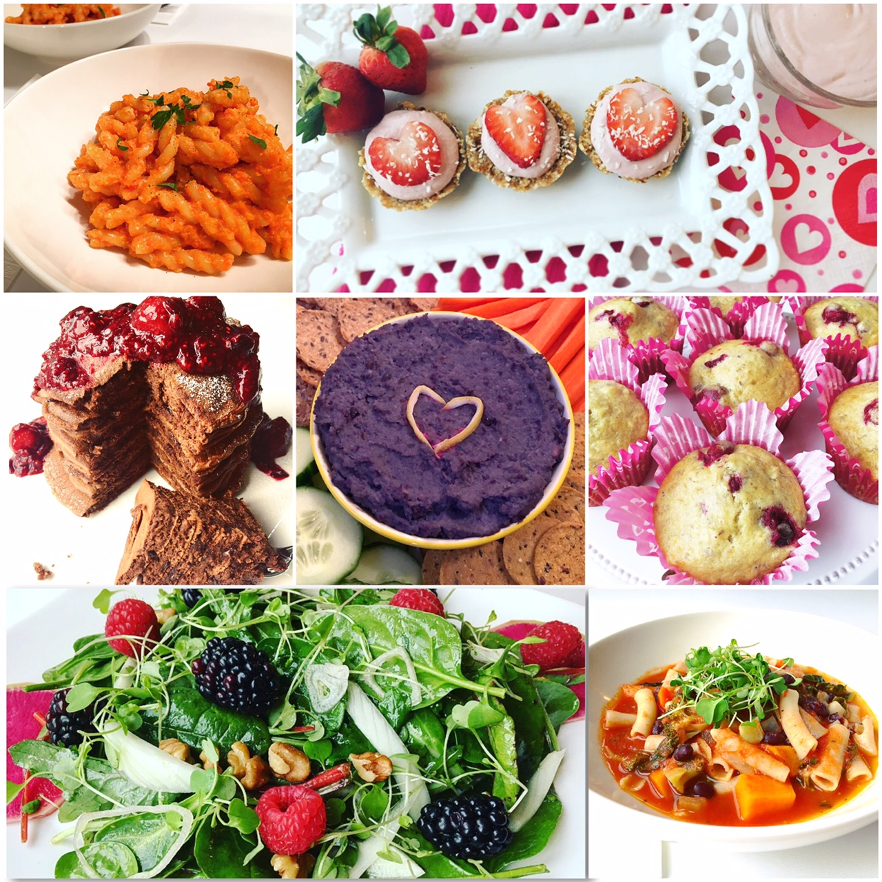 healthy heart + valentine's day recipes